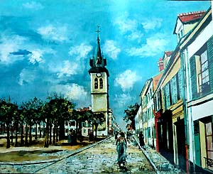 サン・バルテルミィ広場と教会、ムラン