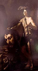 ゴリアテの首を持つダヴィデ