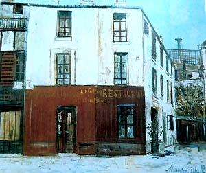 イル・ド・サンジュ酒場にて、ゴブラン、パリ