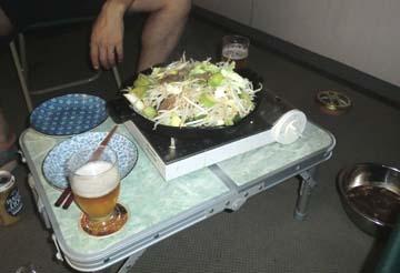 外で食べると美味しいね