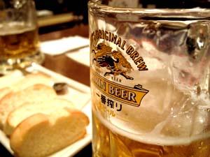 飲みかけのビール写真になっちゃった(笑)