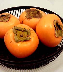 生協で買った柿